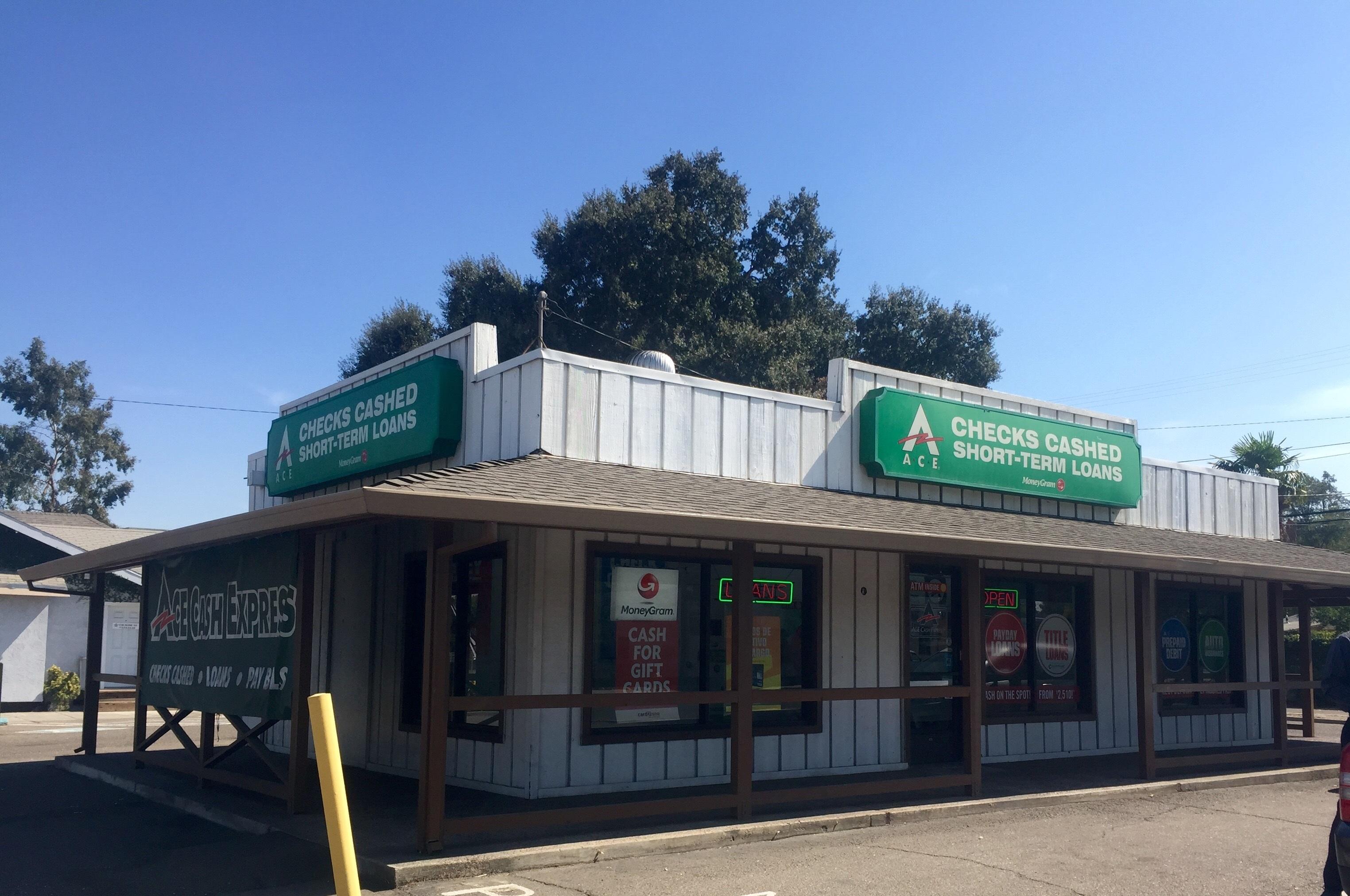 Ace Cash Express Modesto California Ca Localdatabase Com