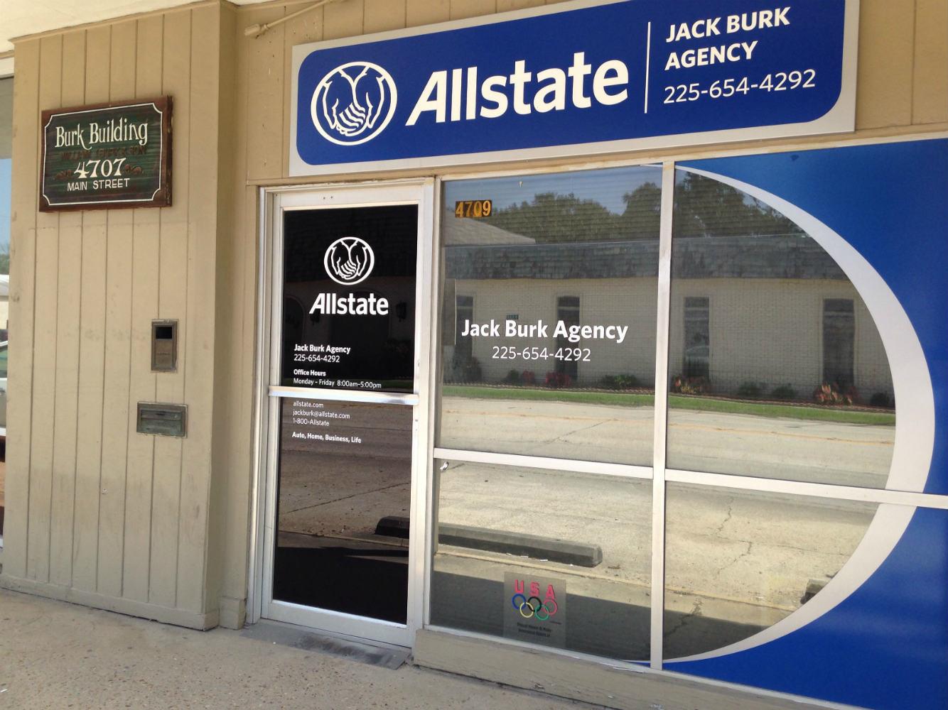 Allstate Insurance Agent Jack Burk In Zachary La