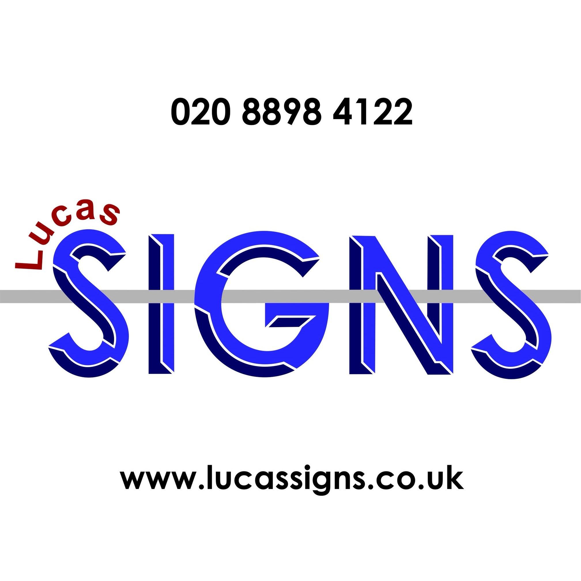 Lucas Signs - Feltham, London TW13 5HG - 020 8898 4122 | ShowMeLocal.com