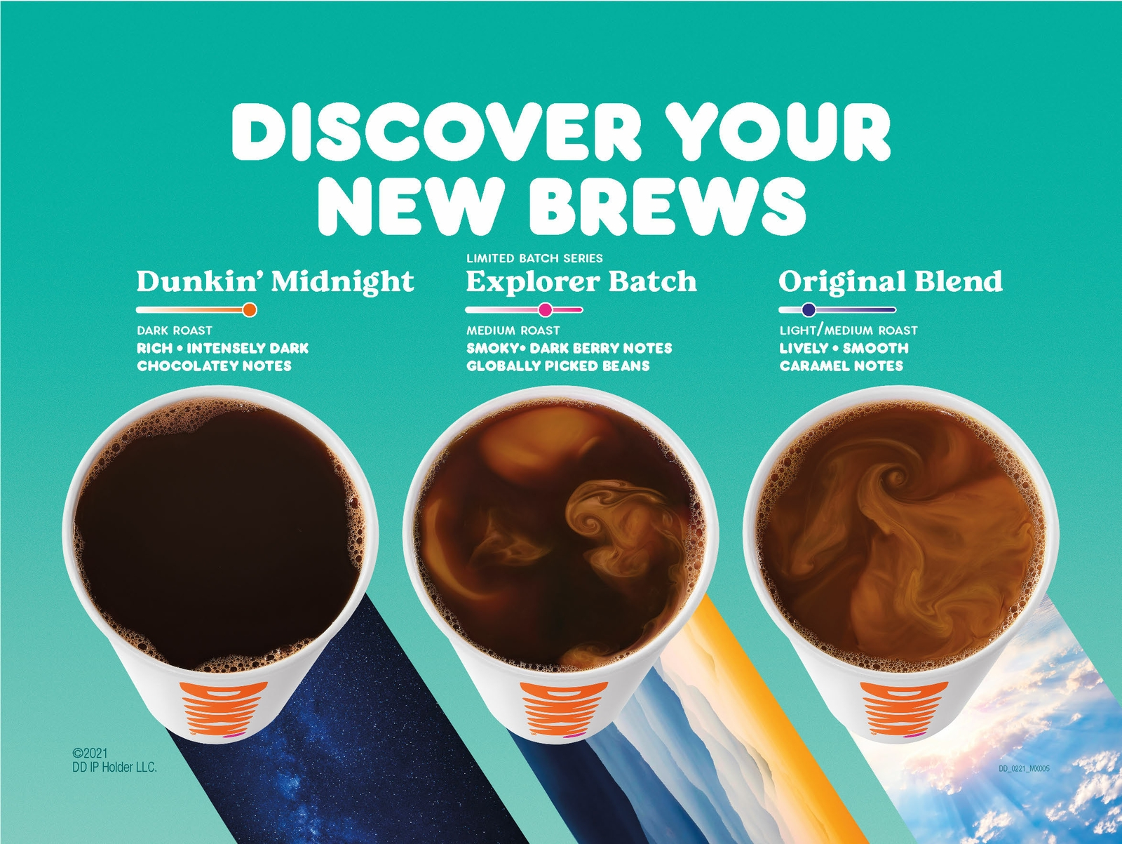 Dunkin' New Brews