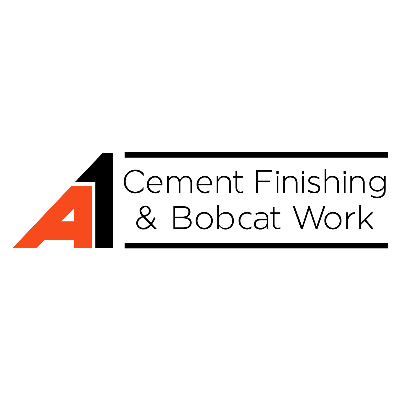 A1 Cement Finishings & Bobcat Work