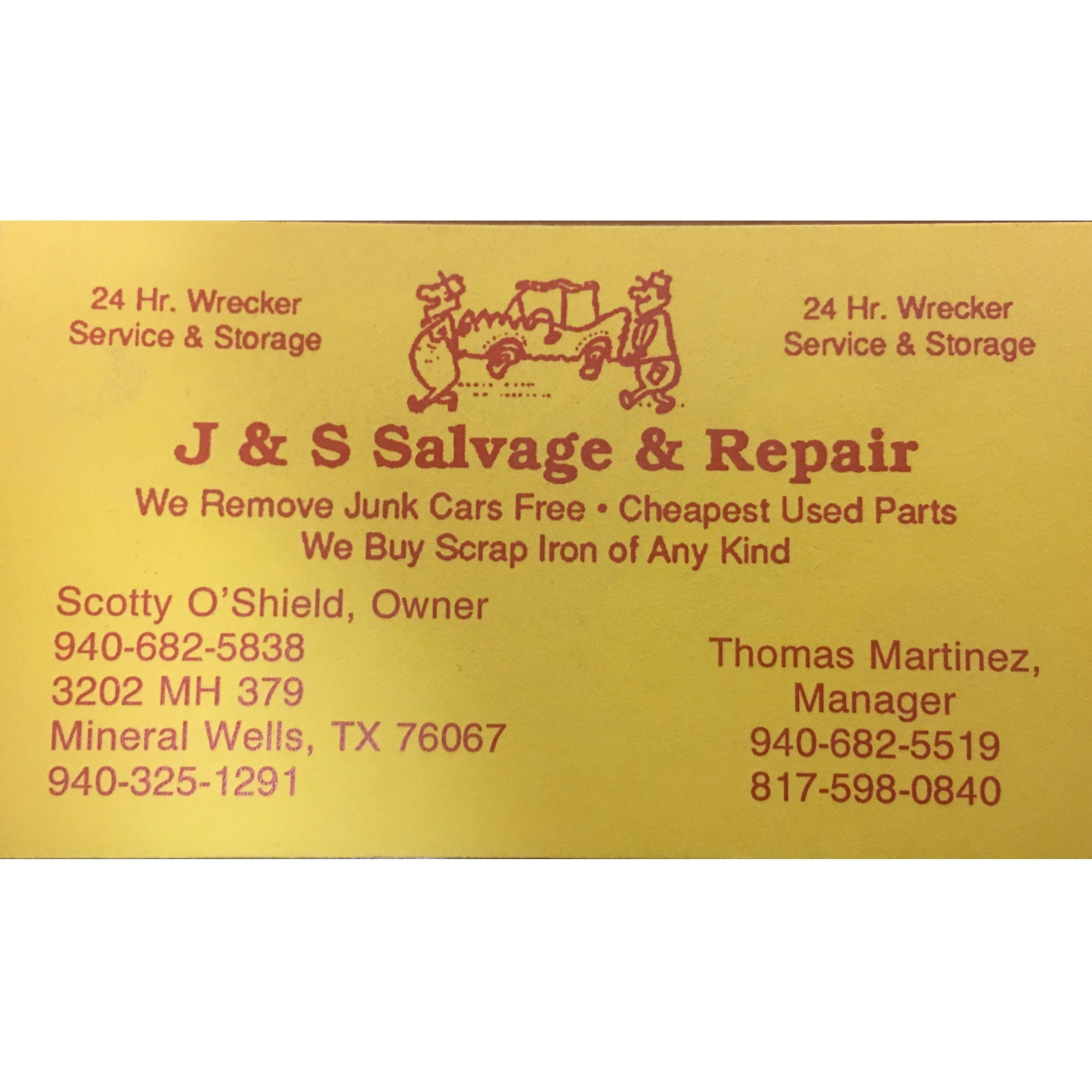 J&S SALVAGE AND REPAIR