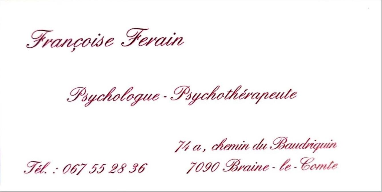 Psychologue Ferain Françoise