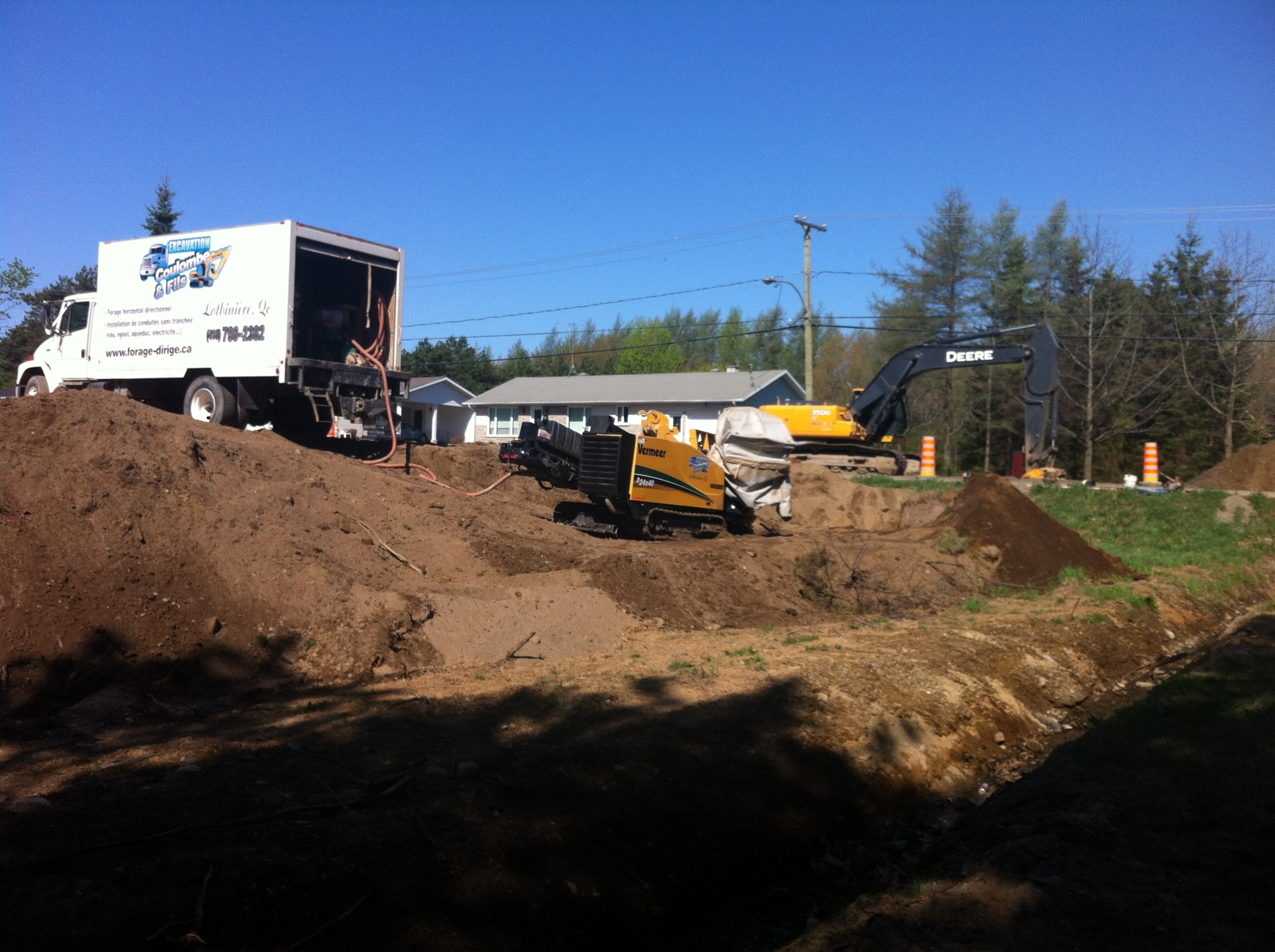 Excavation Coulombe et Fils