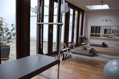 re-balance pilates studio + GYROTONIC + GarudA