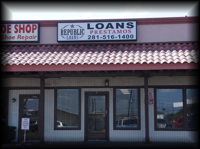 Republic Loans In Houston Tx 77073 Chamberofcommerce Com
