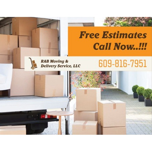 R.A.B. Moving & Delivery Service LLC - Mays Landing, NJ 08330 - (609)816-7951 | ShowMeLocal.com