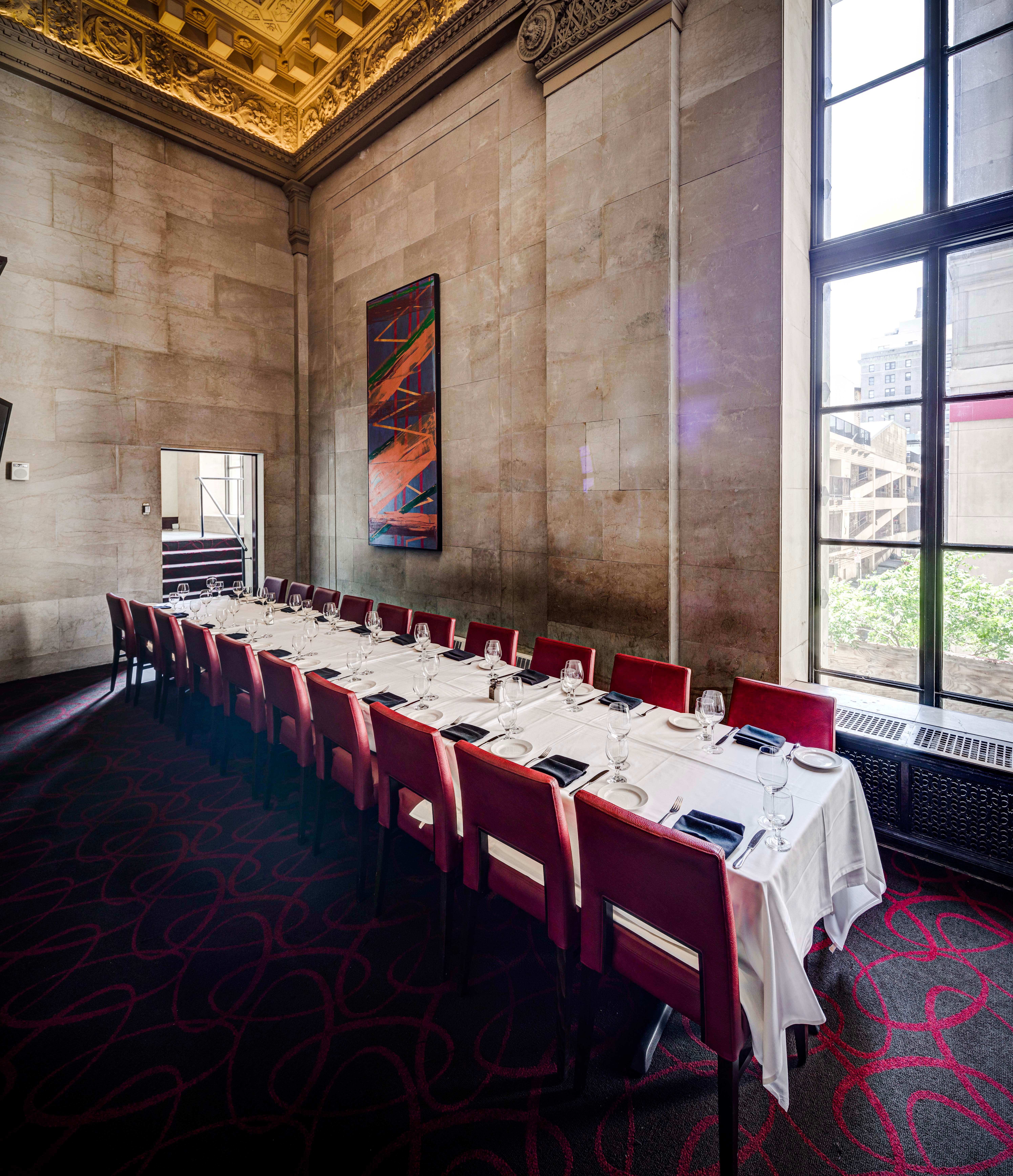Del Frisco's Double Eagle Steakhouse Philadelphia Grotto private dining room