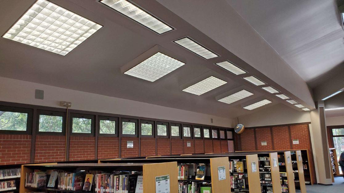 Lighting Retrofit at the Thonotassa Library