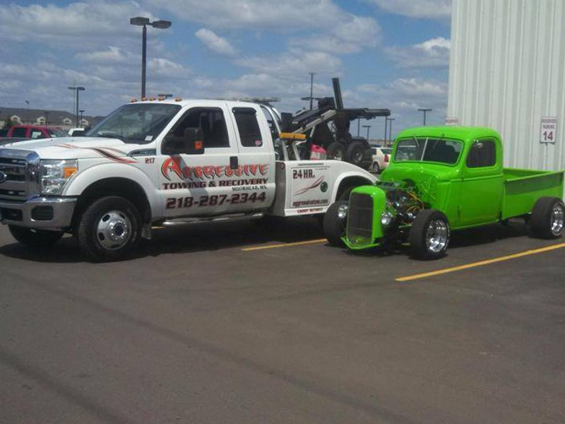 Tire Repair Near Me Open Sunday >> Aggressive Towing & Recovery, Moorhead Minnesota (MN ...