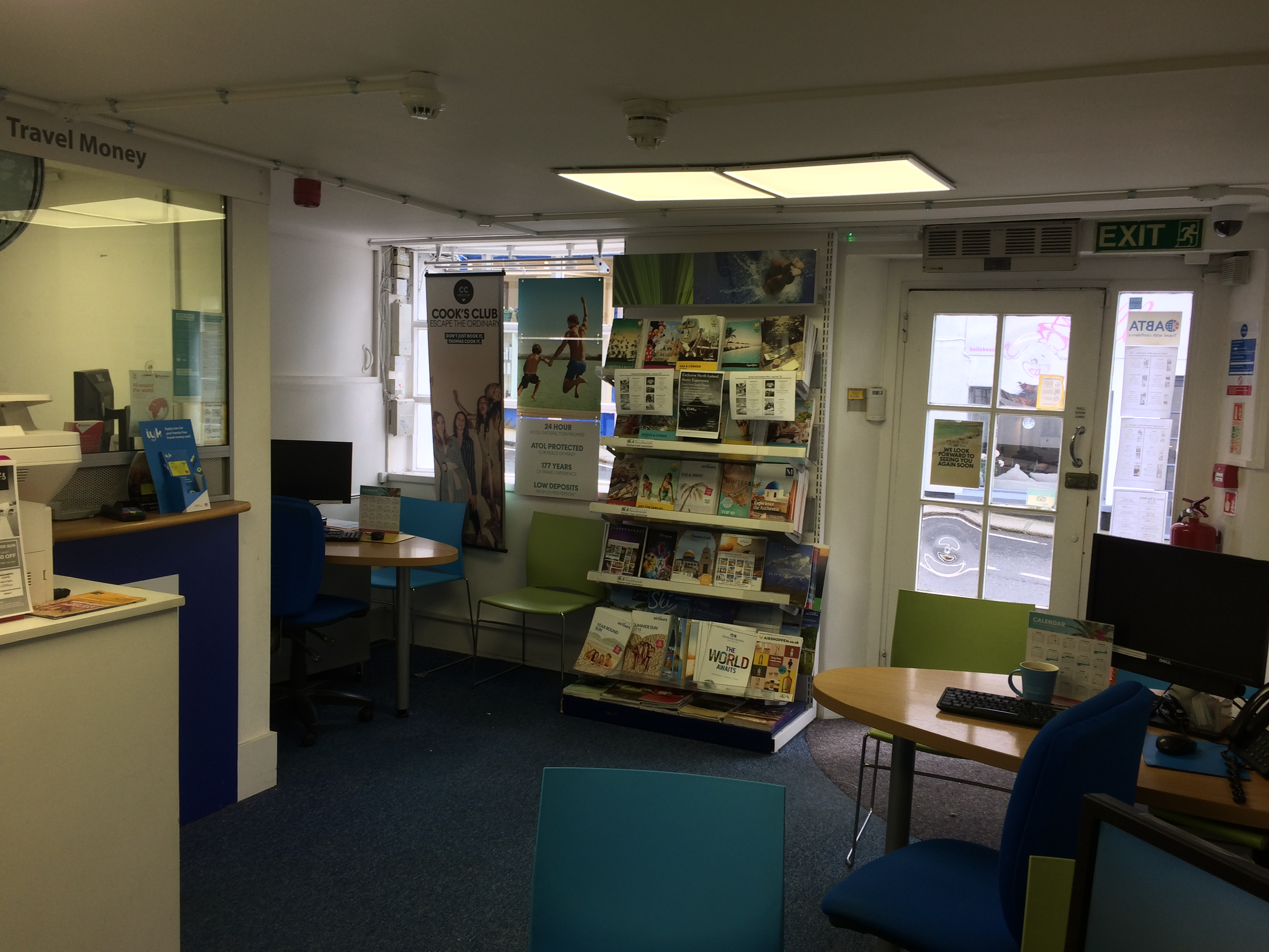 CLOSED Thomas Cook Travel Store