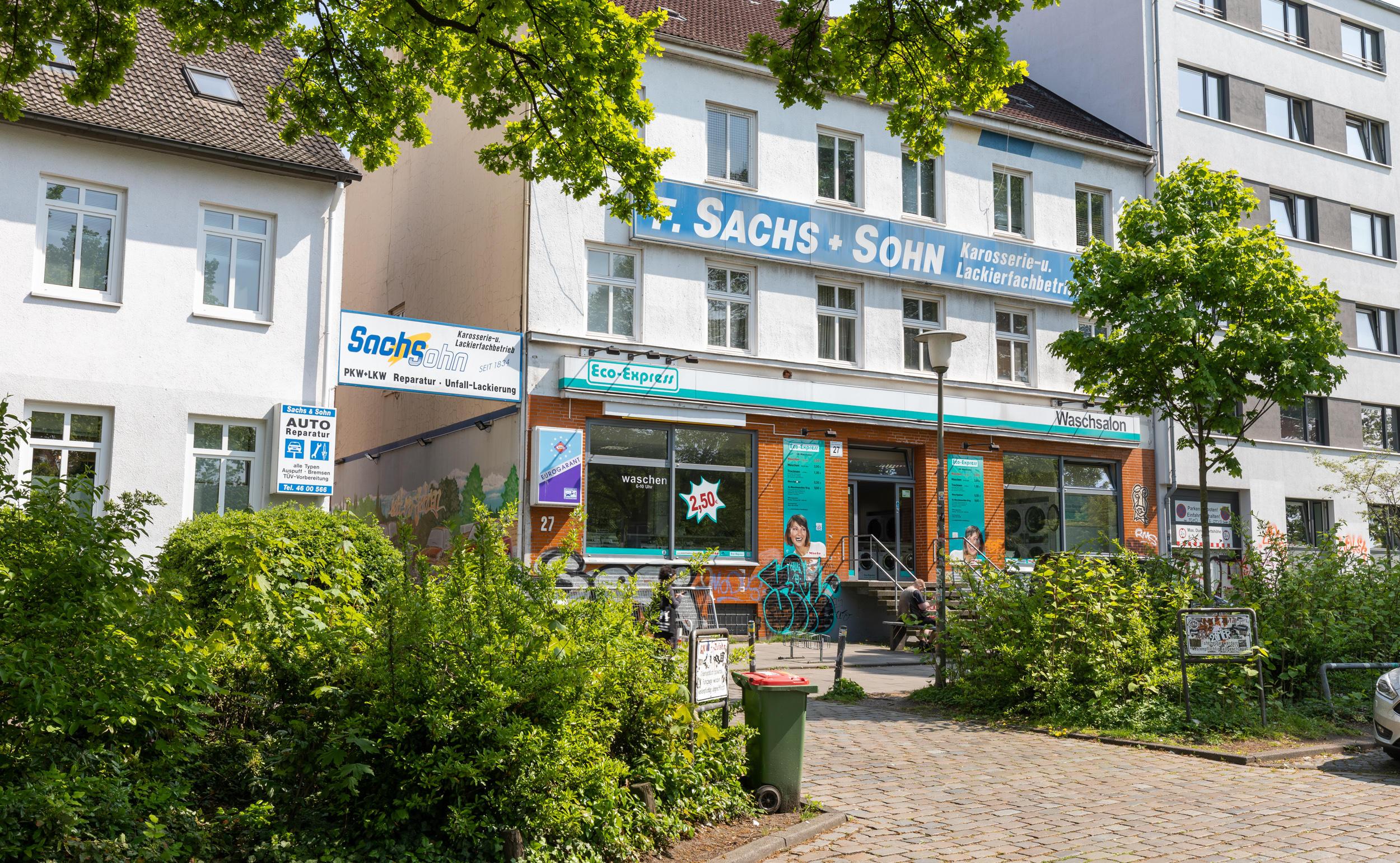 F. Sachs & Sohn GmbH | Karosseriefachbetrieb + Lackierfachbetrieb