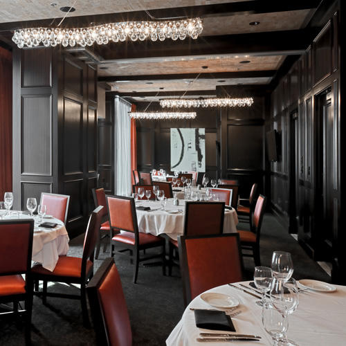 Del Frisco's Double Eagle Steakhouse Boston The Avenue Room private dining room