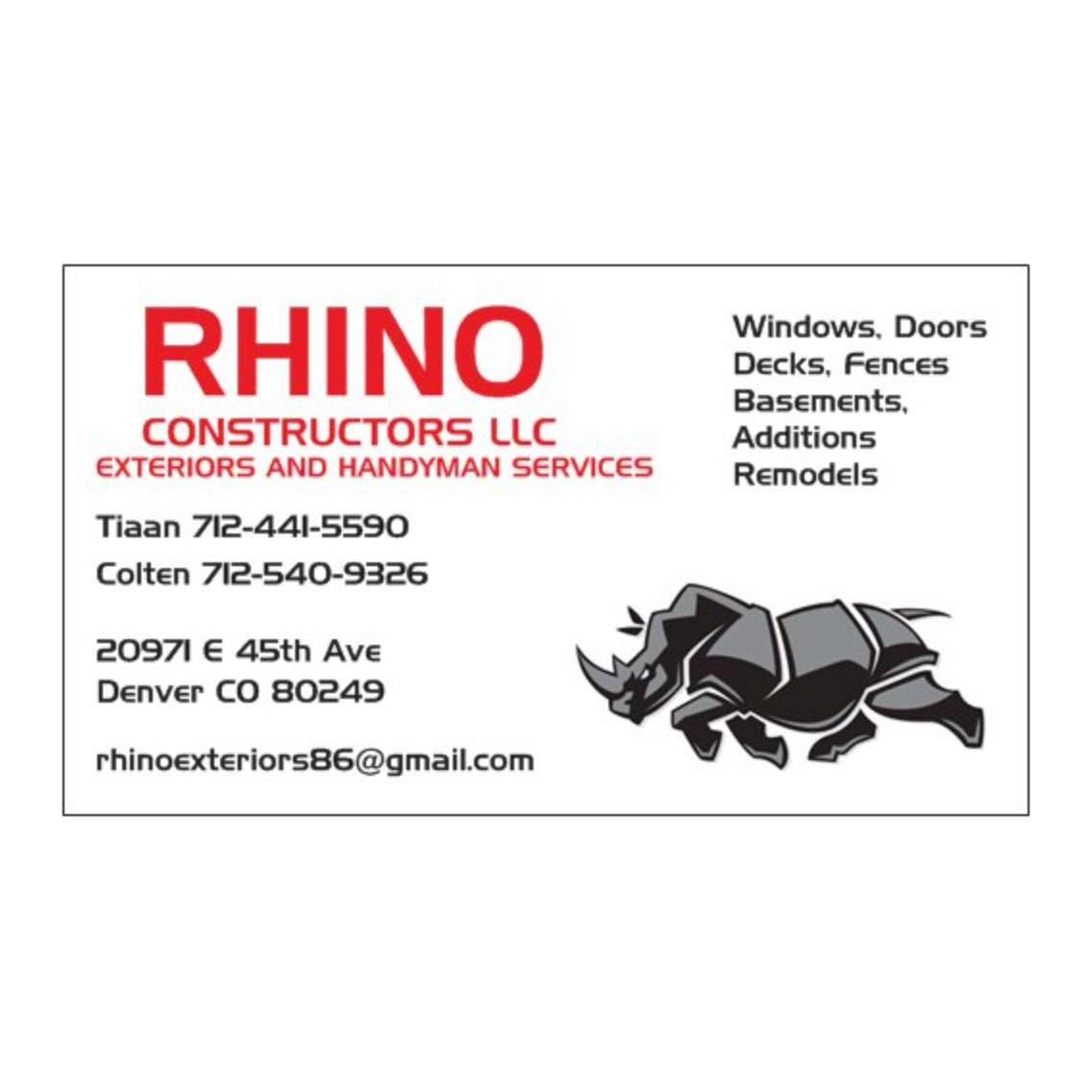 Rhino Constructors LLC - Denver, CO 80249 - (712)441-5590 | ShowMeLocal.com