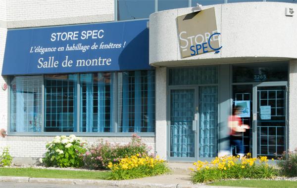 Store Spec Decoration de Fenetres à Laval