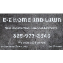 E-Z Home and Lawn Logo
