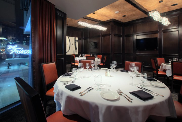 Del Frisco's Double Eagle Steakhouse Boston Cityside Room private dining room