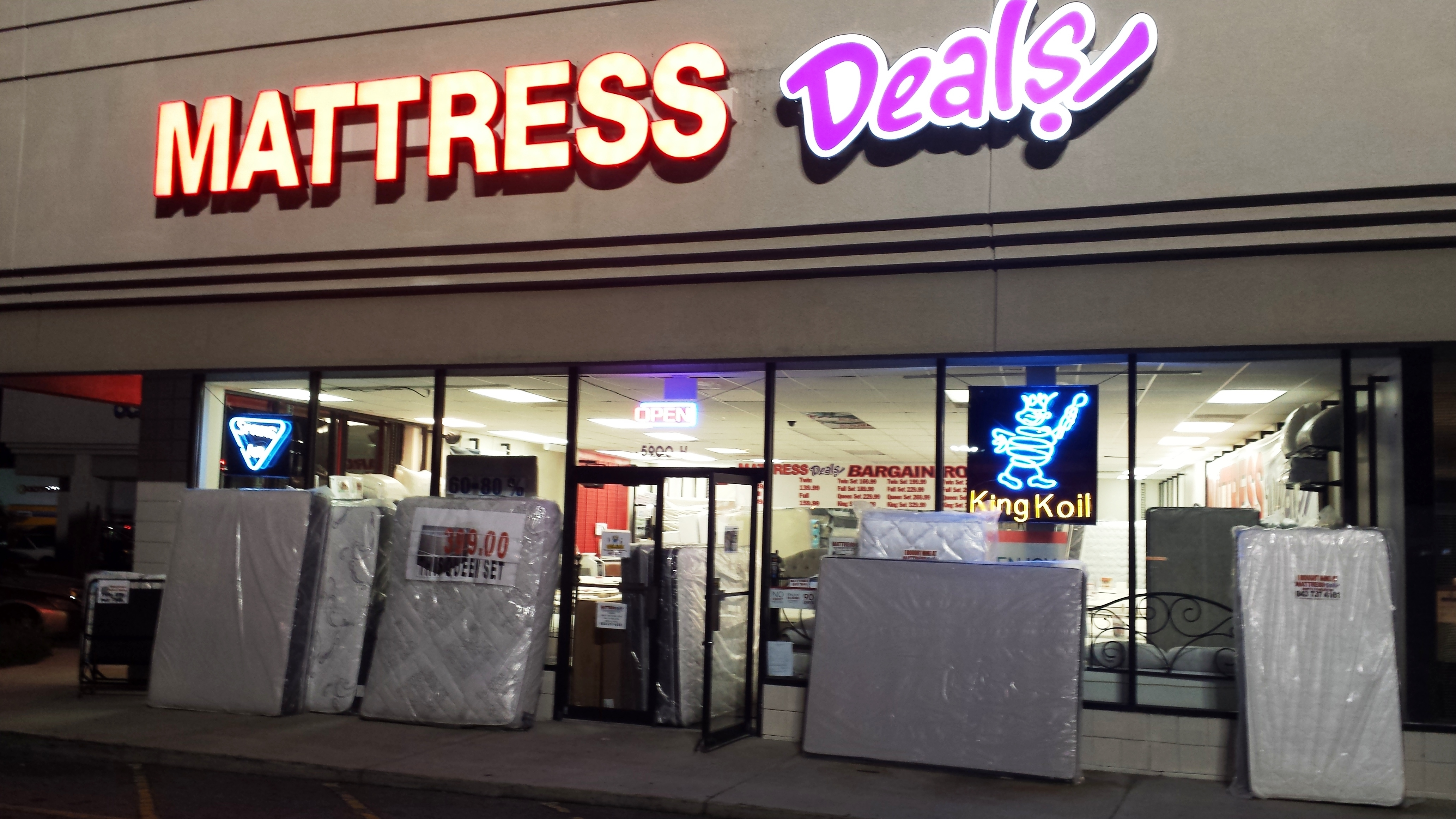 Mattress deals in north charleston sc 29406 for Deals furniture and mattress outlet