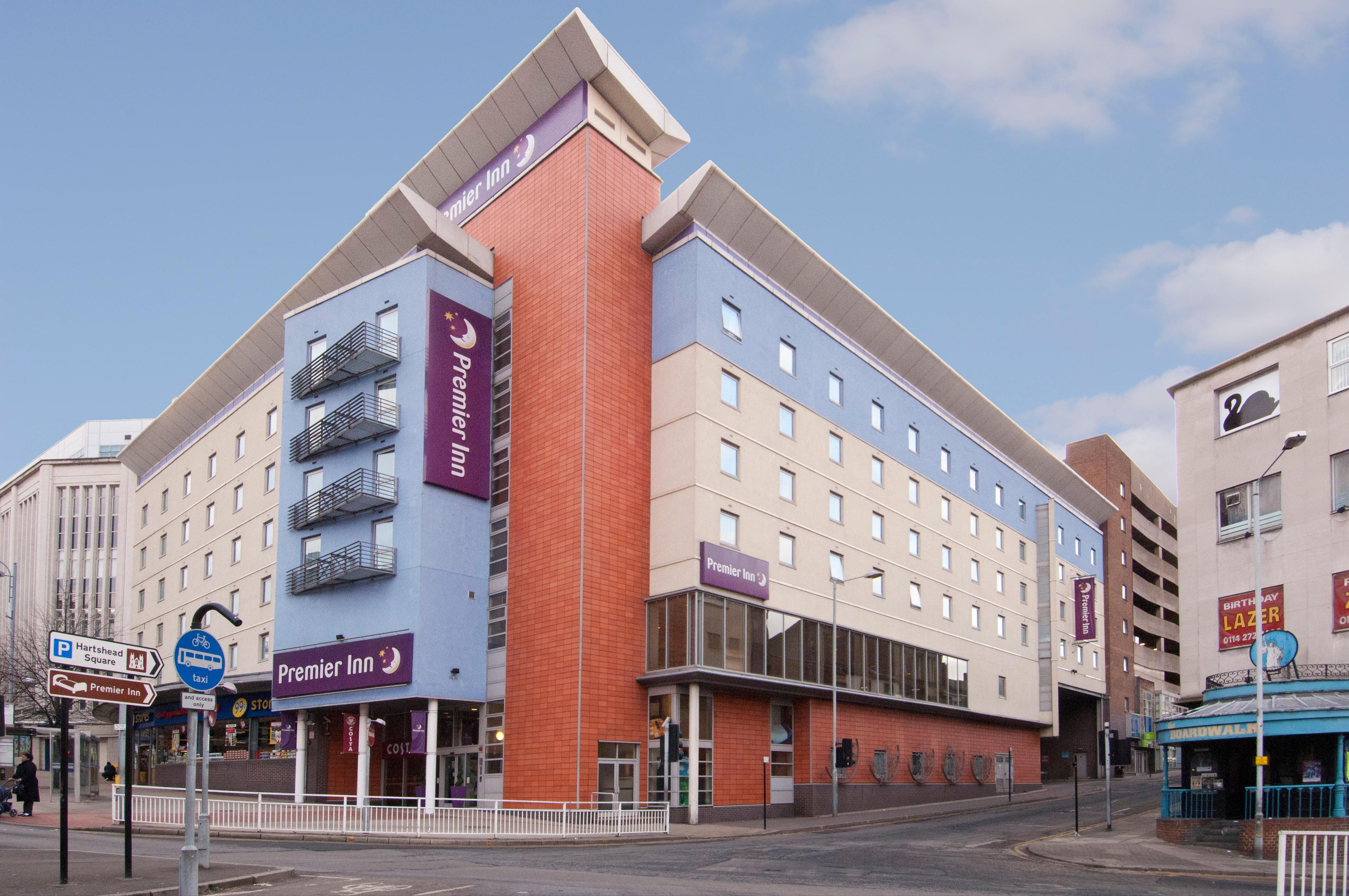 Premier Inn Sheffield City Centre (Angel Street) hotel