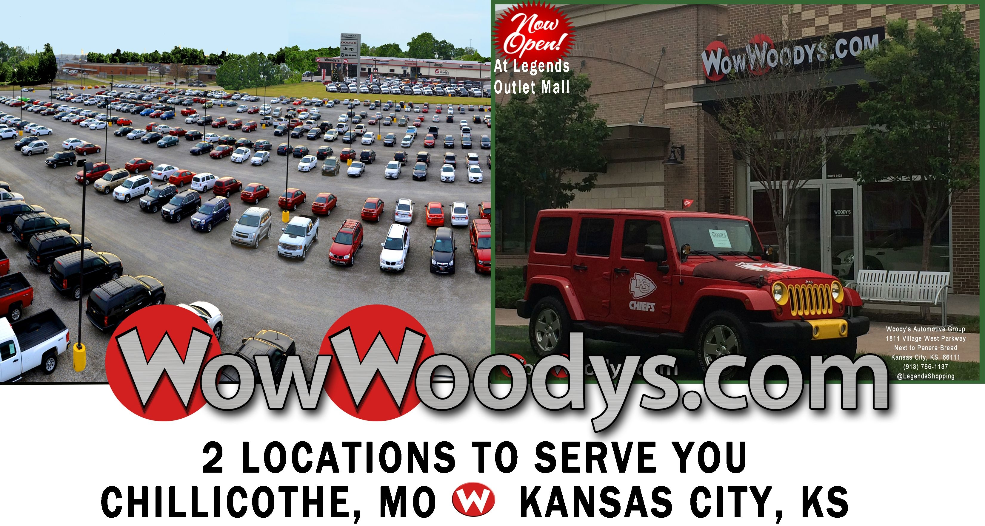 Woody 39 s automotive group in chillicothe mo 64601 for Barnes baker motors chillicothe missouri