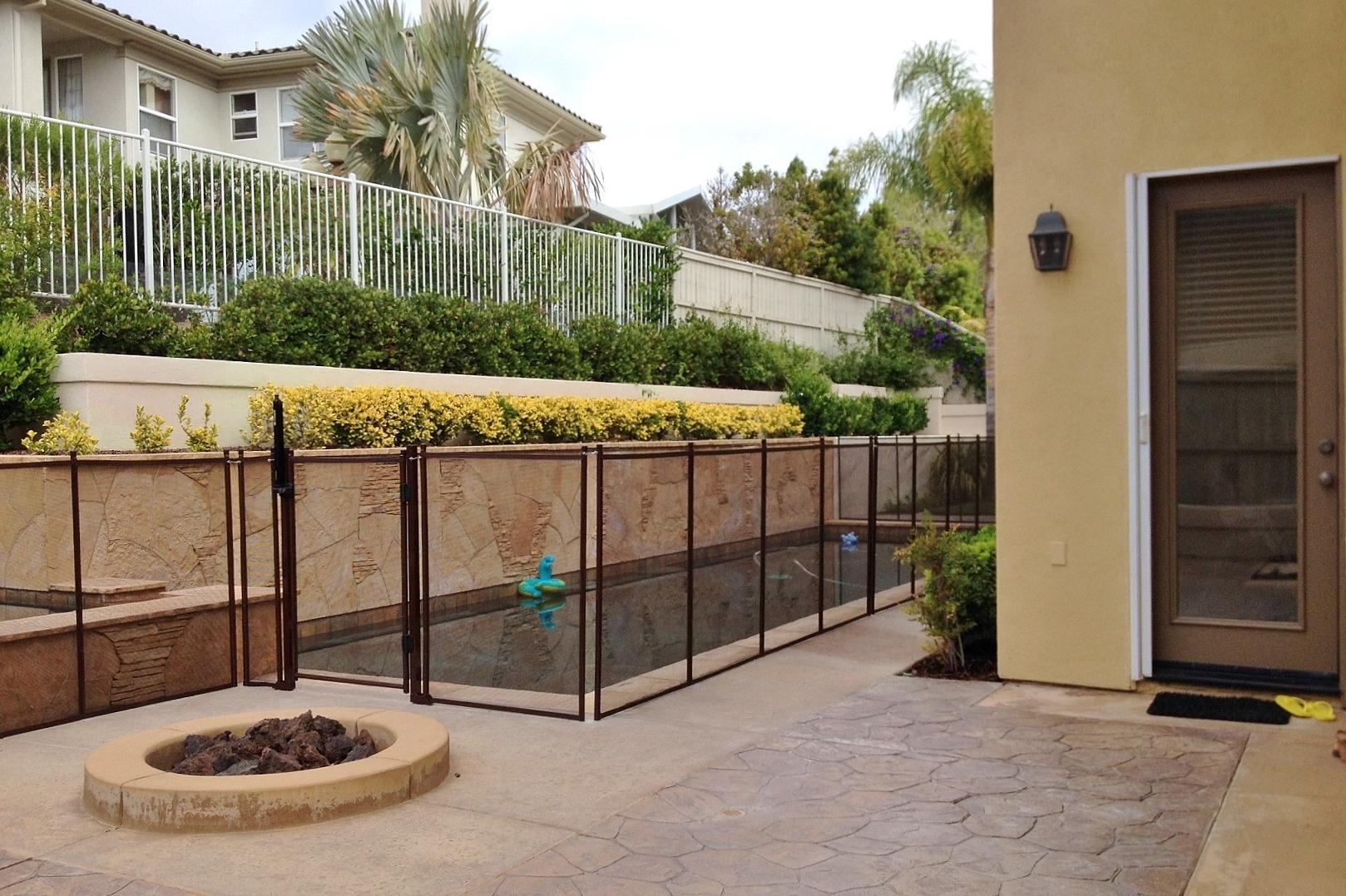 Safeguard mesh glass pool fence company coupons near me for Window companies near me