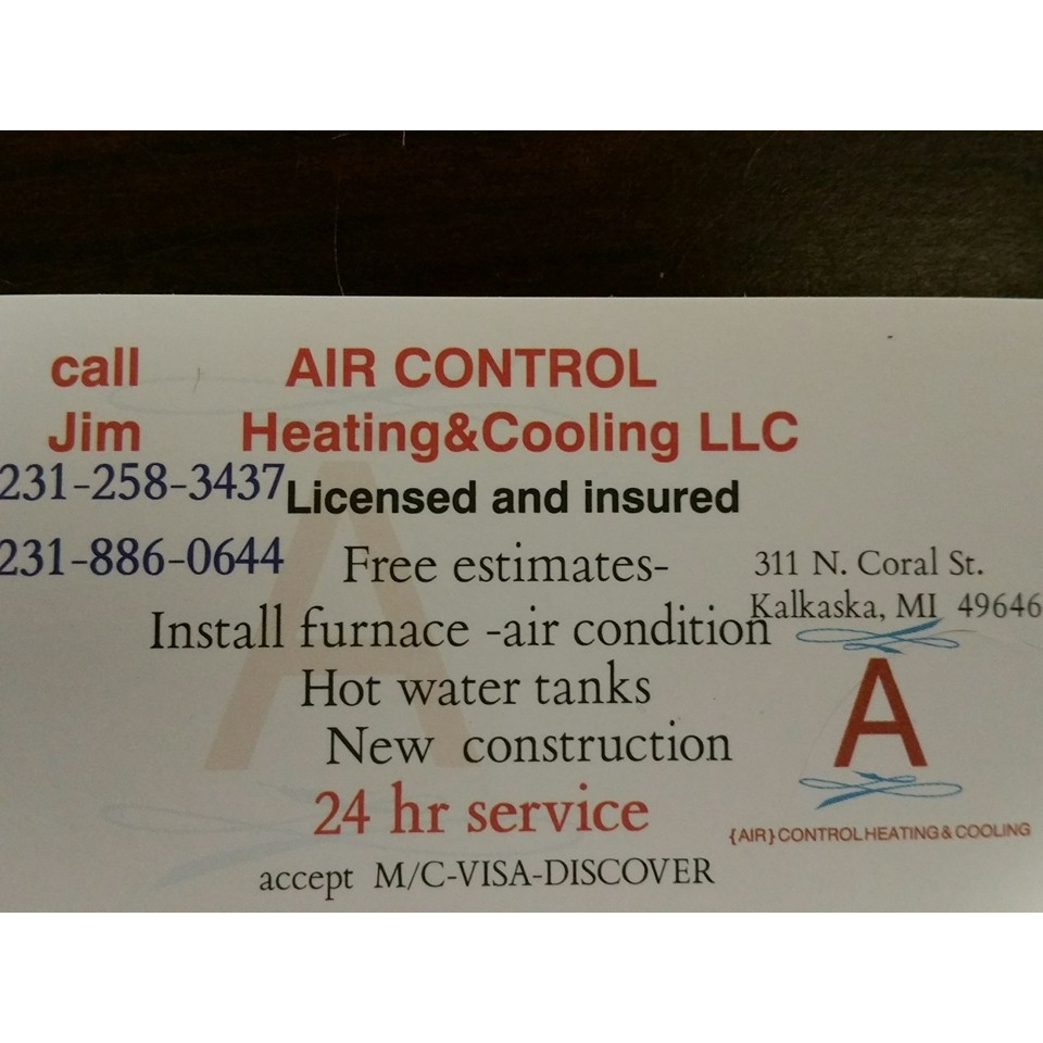 Air Control Heating & Cooling Llc