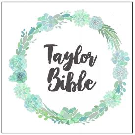 Taylor Bible Weddings