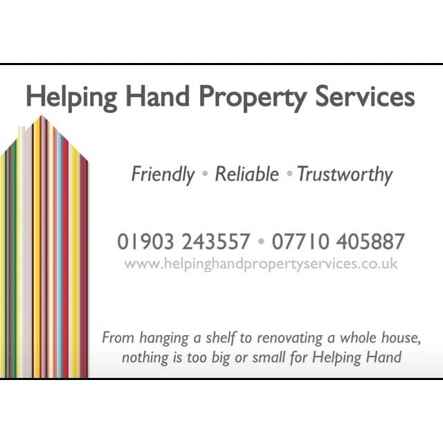 Helping Hand Property Services Ltd - Worthing, West Sussex BN11 5HW - 07710 405887   ShowMeLocal.com