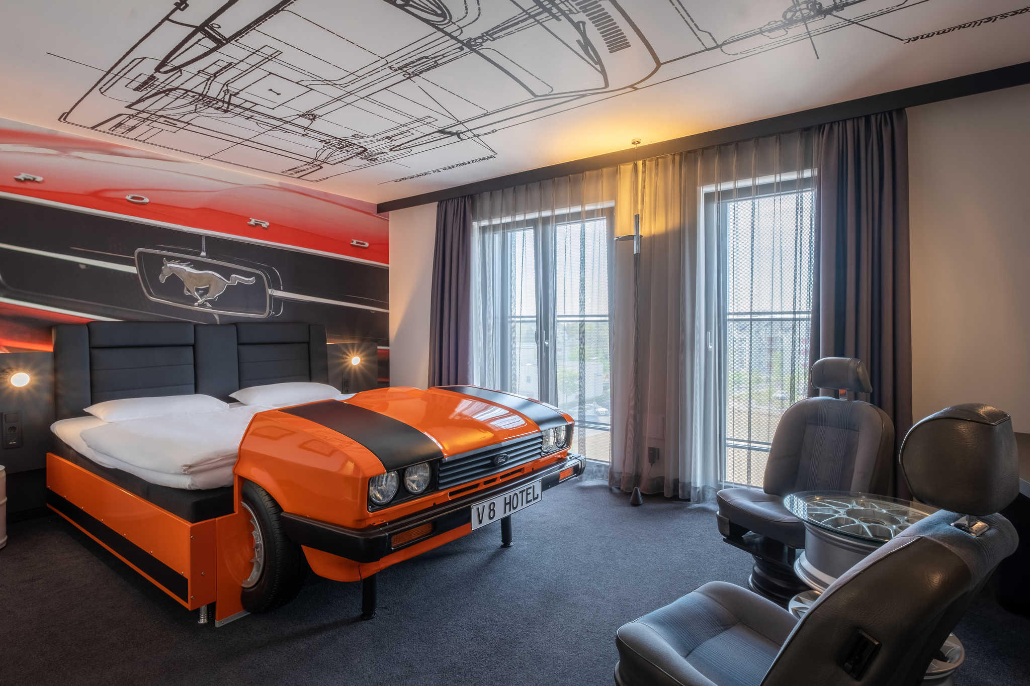 Bilder V8 Hotel Koln @Motorworld, Ascend Hotel Collection