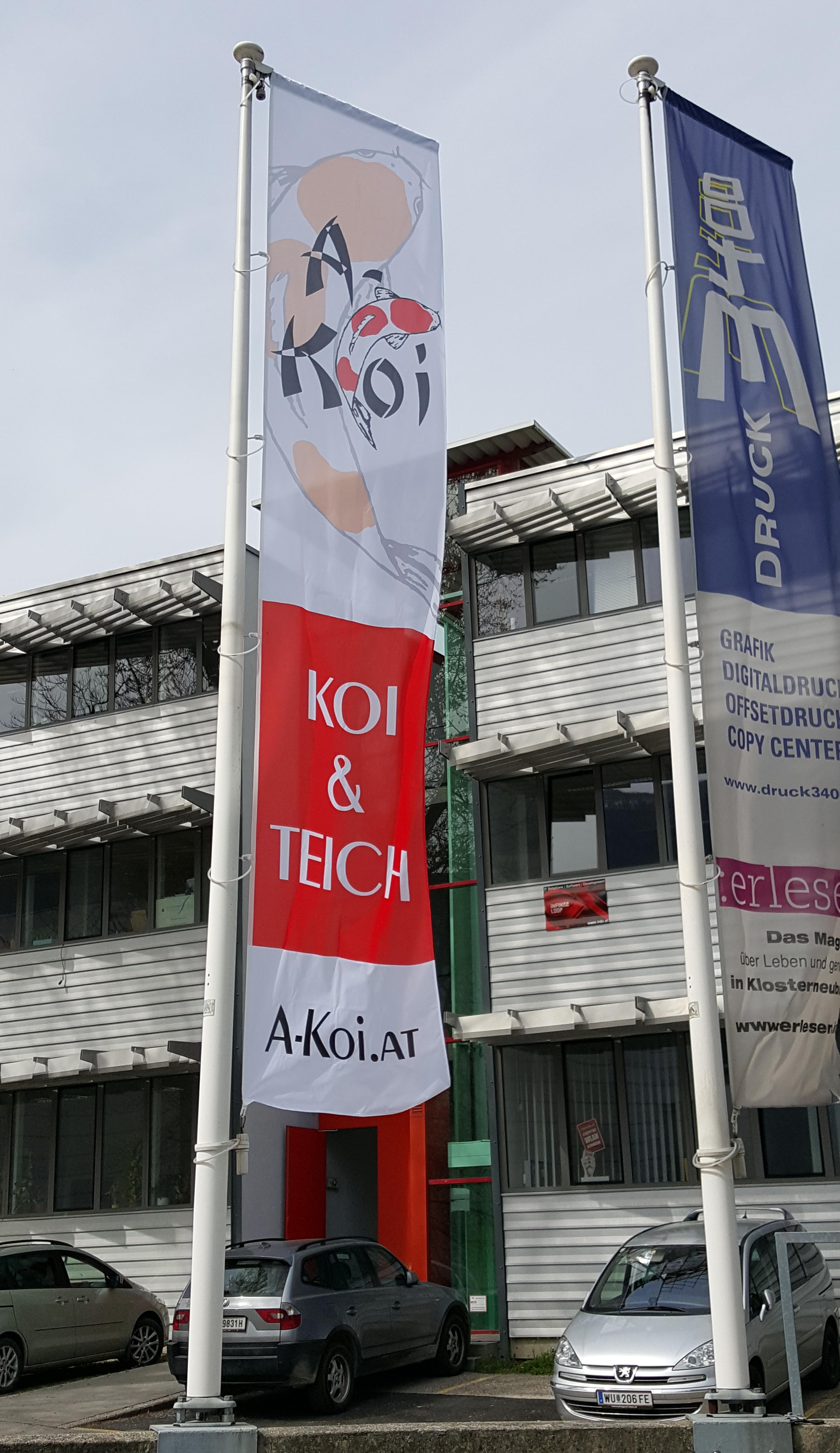 A-Koi Karl Wiesbauer - Koi & Gartenteichzubehör / Shop