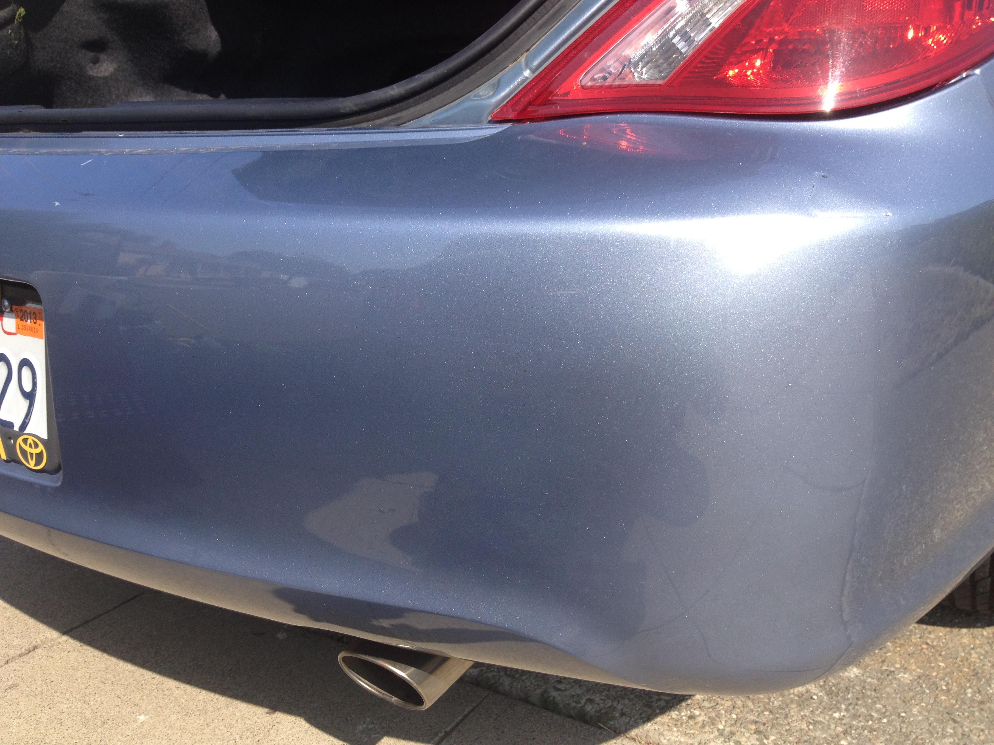 Car Paint Repair San Jose
