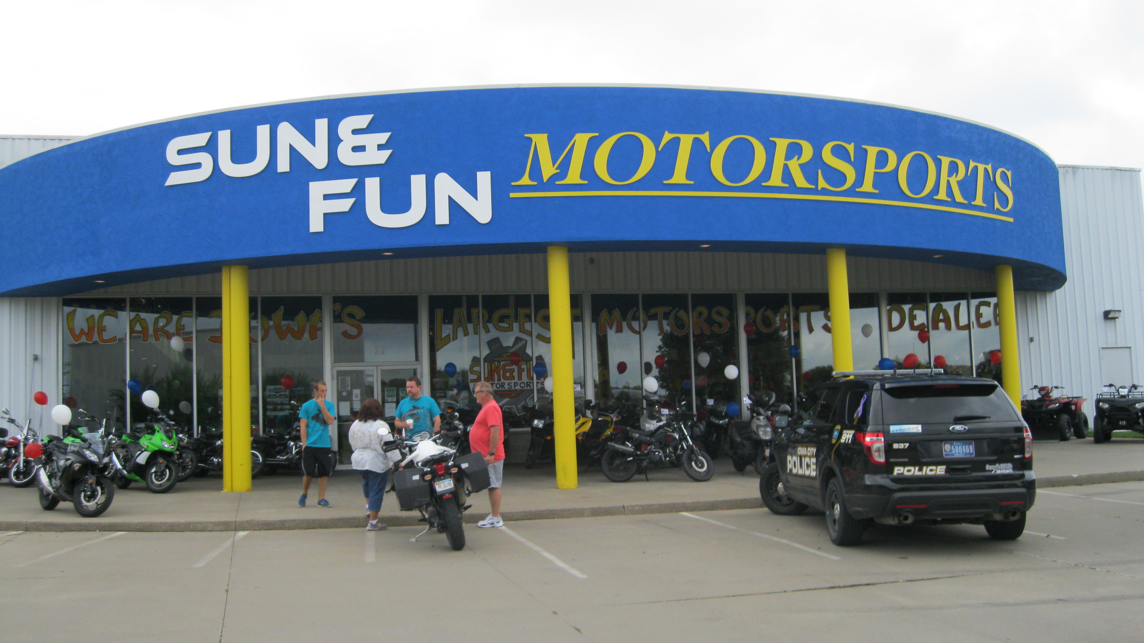 Sun and fun motorsports in iowa city ia 52240 for Motor city powersports hours