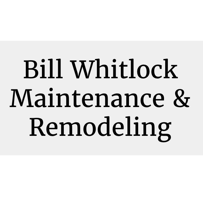 Bill Whitlock Maintenance & Remodeling