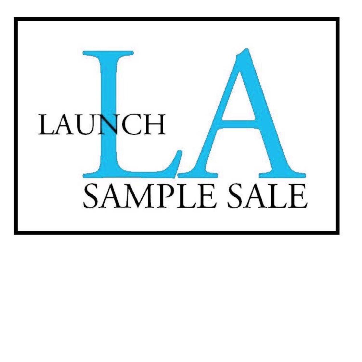 Launch LA Sample Sale