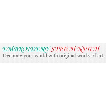 Embroidery Stitch Nitch