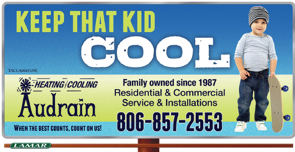 Audrain Heating and Cooling - ad image