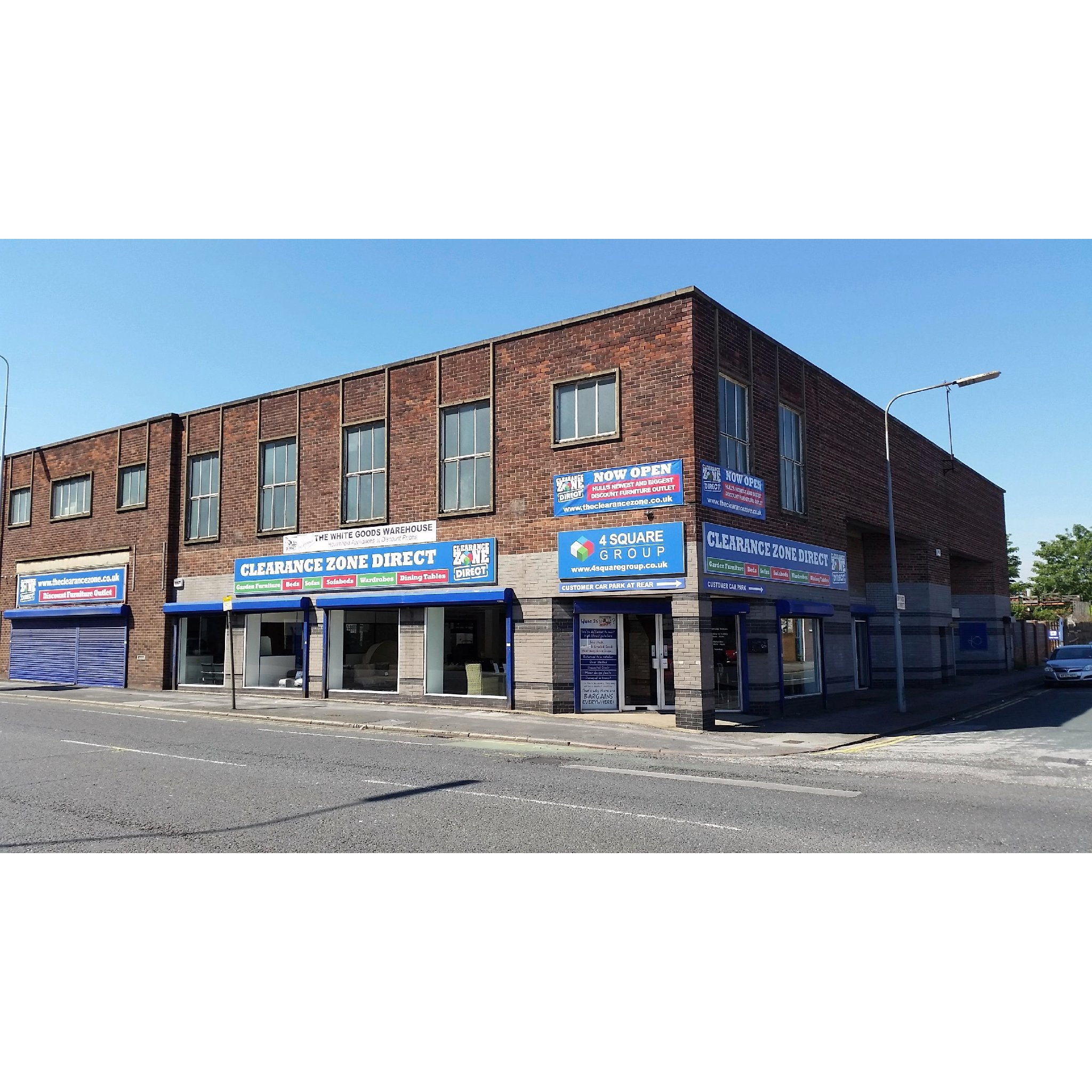 clearance zone direct  hull furniture