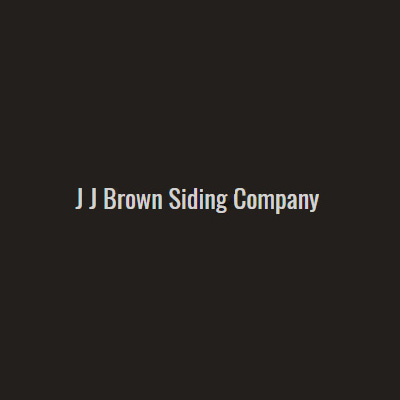 J J Brown Siding Company
