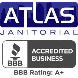 atlas janitorial services Logo