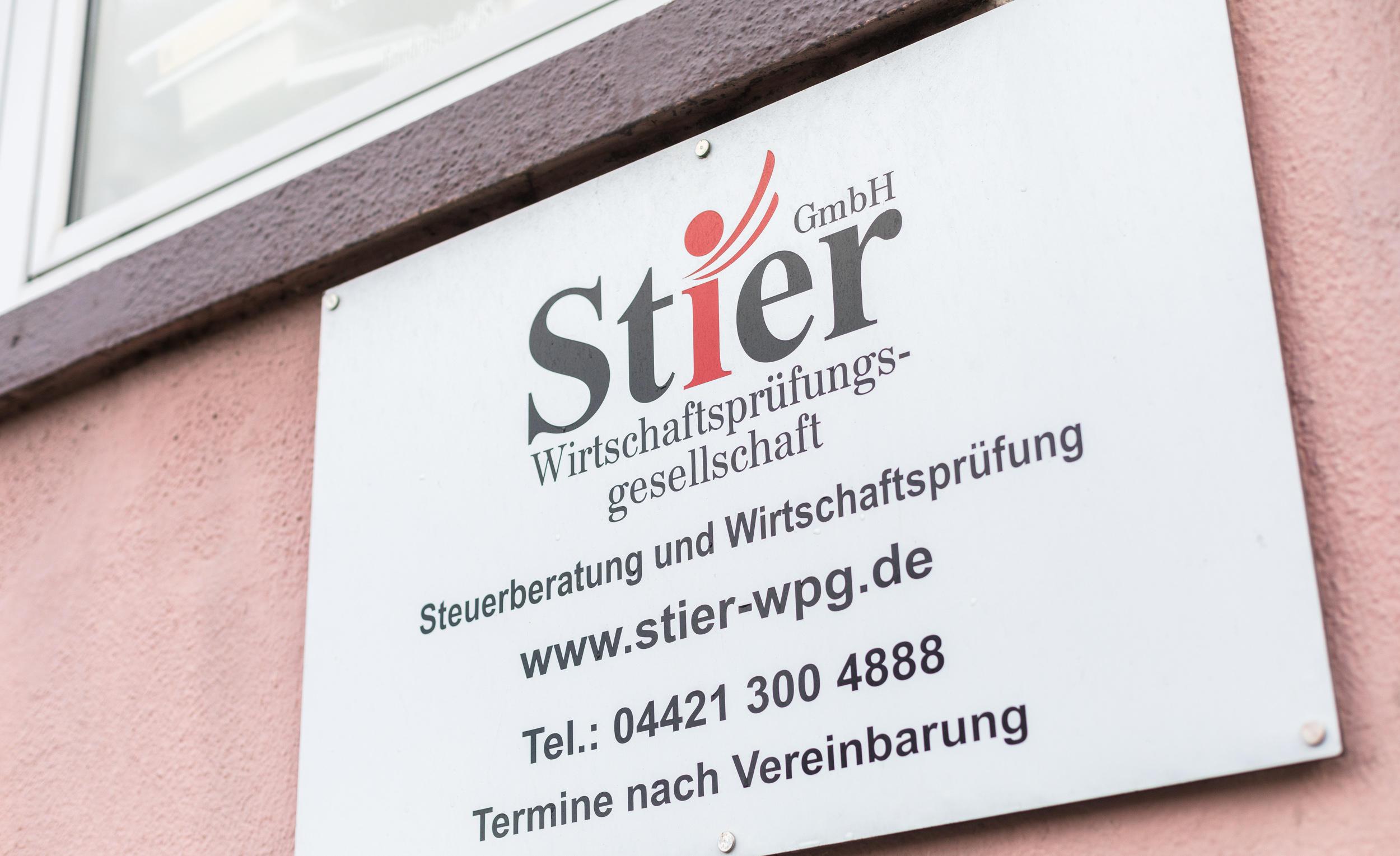 Stier GmbH Wirtschaftsprüfungsgesellschaft Steuerberater