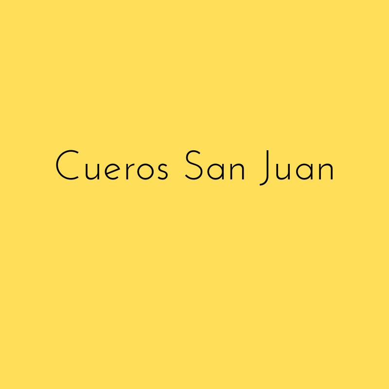 Cueros San Juan
