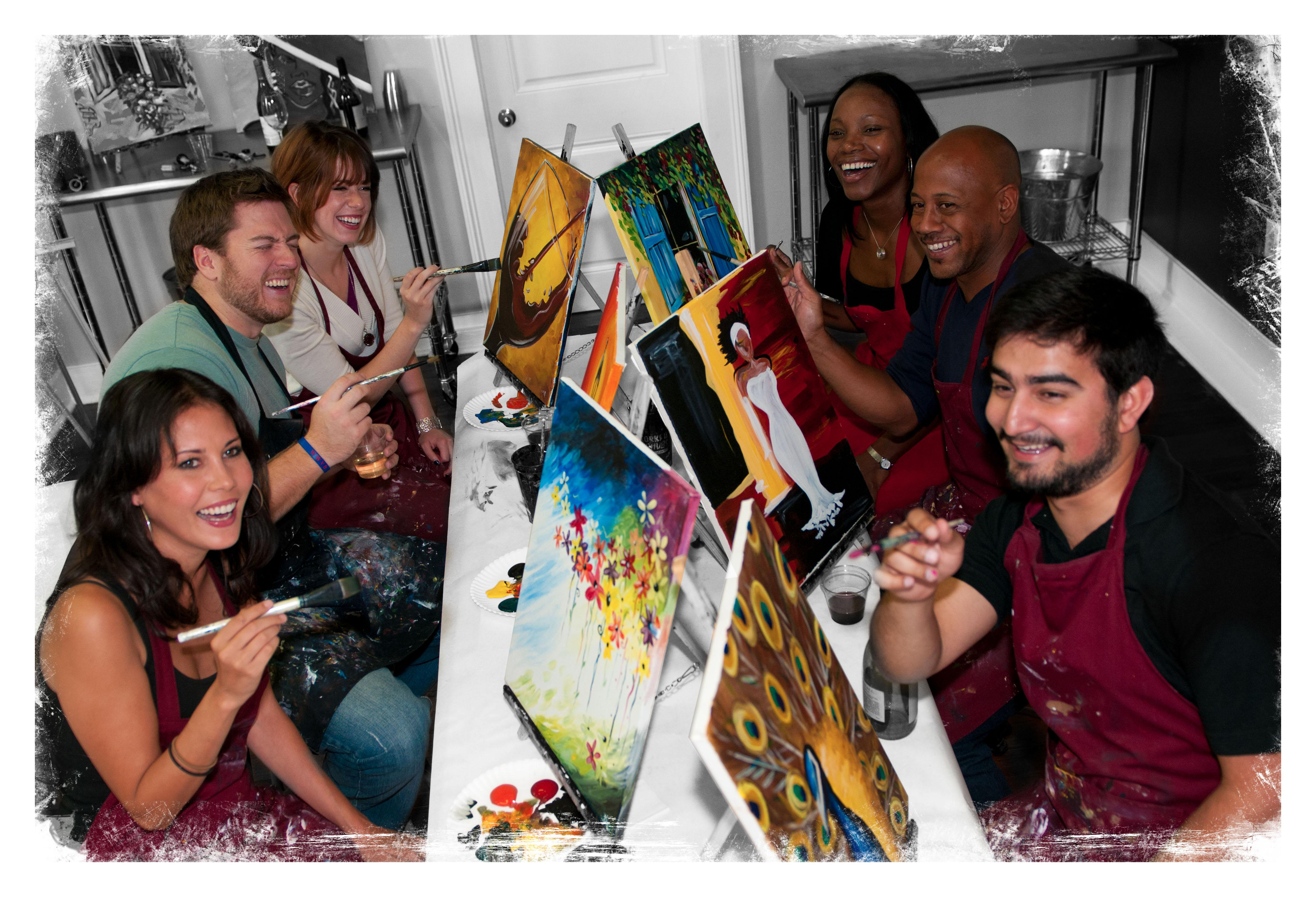painting with a twist in west chester pa 19382