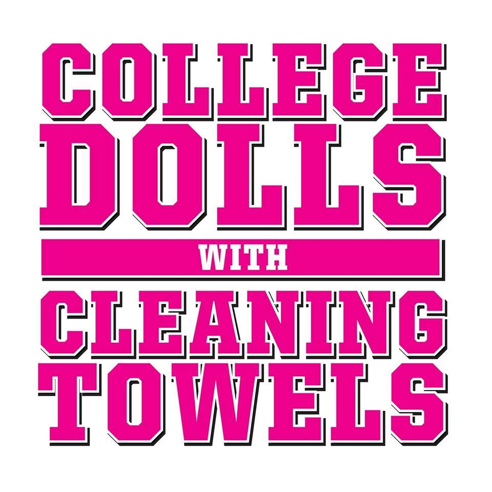 College Dolls With Cleaning Towels
