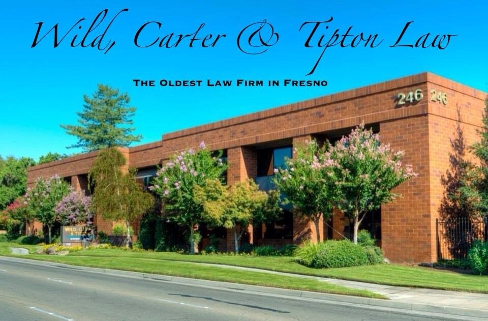 Wild, Carter & Tipton Law -- The Oldest Law Firm in Fresno.  Since 1893*