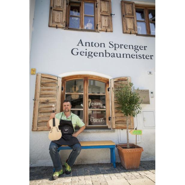 GEIGENBAUMEISTER ANTON SPRENGER GEIGENBAU