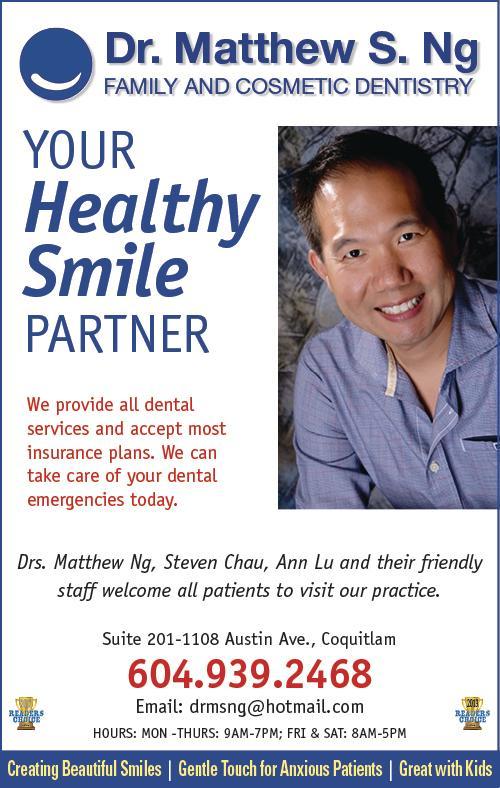 Dr Ng Matthew S Inc Coquitlam (604)939-2468
