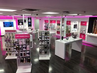 Interior photo of T-Mobile Store at Tower City Mall Inline, Cleveland, OH