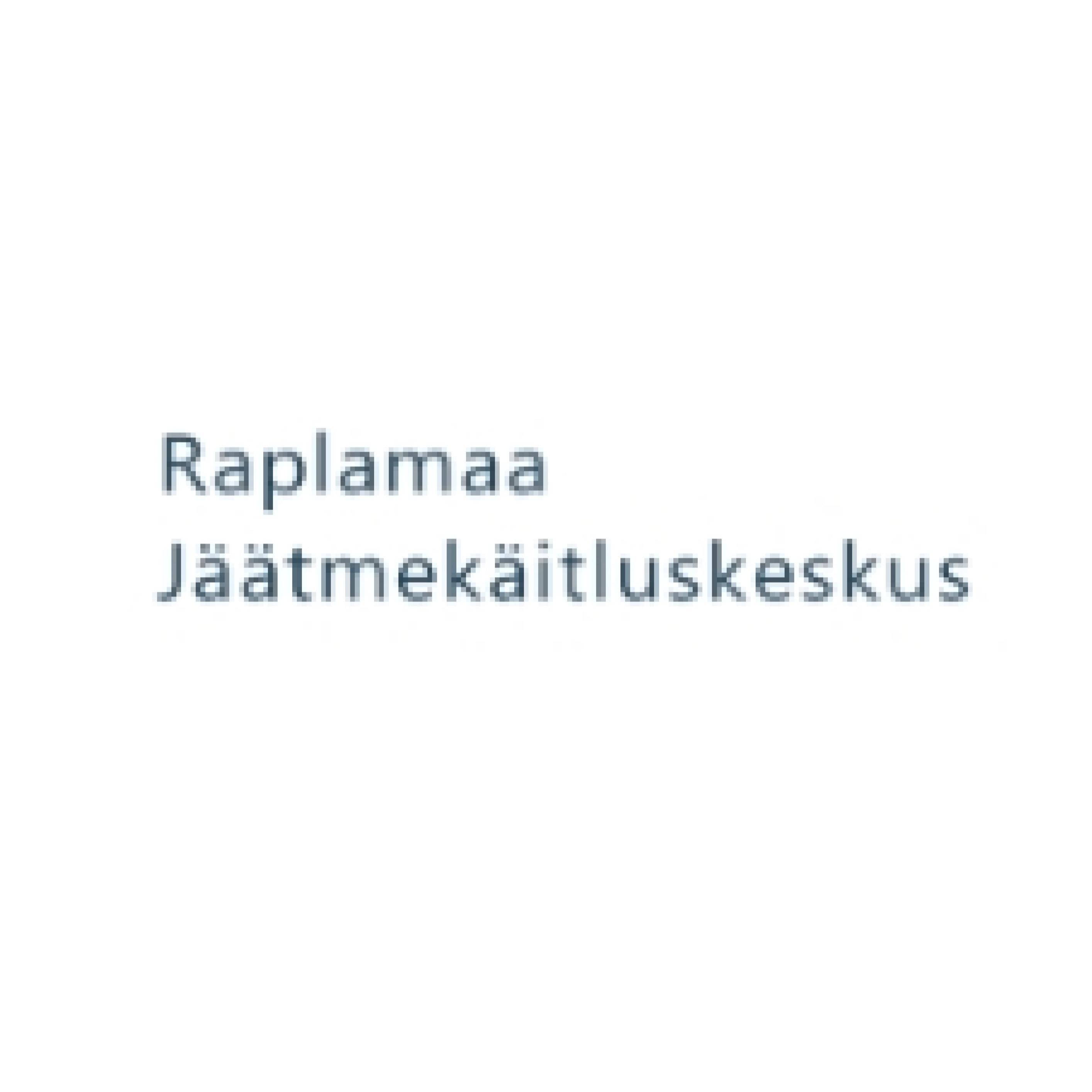 Raplamaa Jäätmekäitluskeskus (Raplamaa Jäätmekäitluskeskus MTÜ)
