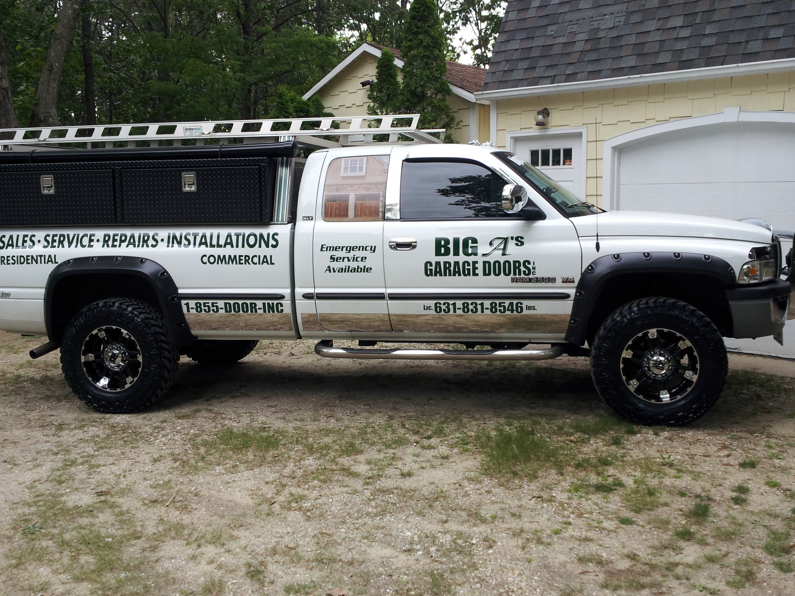 2448 #6C654A Big A's Garage Doors Inc. Coupons Near Me In Manorville 8coupons picture/photo Garage Doors Near Me 37393264