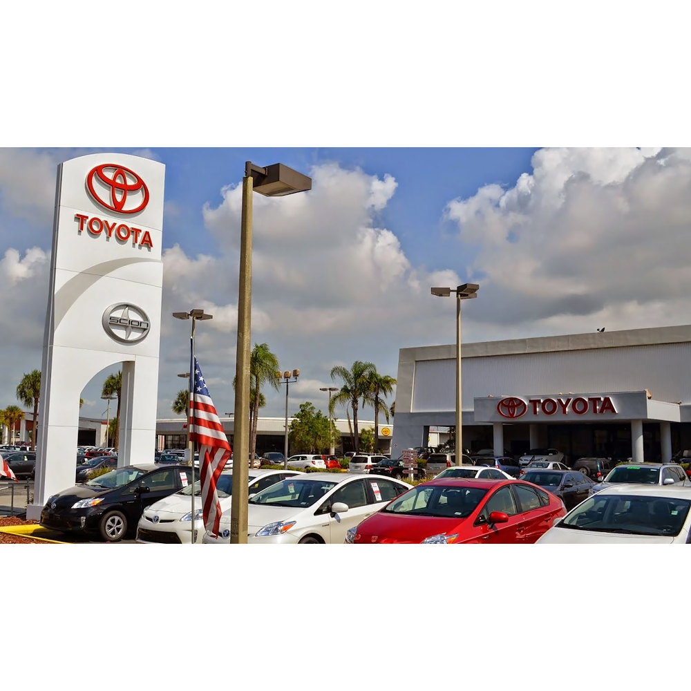 Courtesy Toyota Of Brandon Tampa Florida Fl